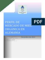 Perfil de Mercado de Miel Orgánica en Alemania