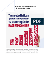 Tres Estadísticas Que Te Harán Replantear Tu Estrategia de Marketing Onlineue Te Harán Replantear Tu Estrategia de Marketing Online