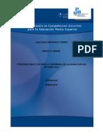 propuesta de intervencion didactica