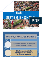 Pi 3 Sistem Ekonomi