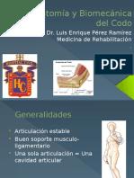 Anatomía y Biomecánica Del Codo