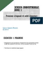 DTI EX MEC 1 Proiezioni Ortogonali