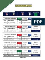 medjuopstinska liga - grupa b - delegiranje - 5  kolo