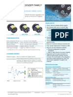 SMSS0001 - Issue a - SMART Logger Family Spec Sheet