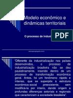 Processo de Industrialização Brasileira