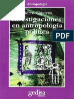 Investigación en antropología política