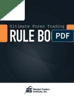 2014 Ultimate Forex Rule Book