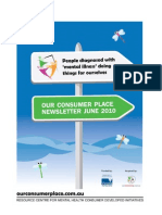 Our Consumer Place Newsletter June 2010