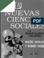Las nuevas Ciencias Sociales