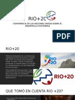 Conferencia Rio +20 2012