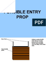3 FORCIBLE ENTRY PALLET PROP
