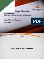 VA Administracao de Materiais e Logistica Aula 5 Tema 5