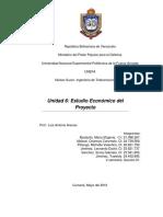 UNIDAD 6. Estudio Económico Del Proyecto