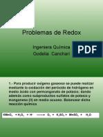 Problemas de Redox y Concentraciones