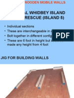 3 REVISED WOODEN MOVABLE WALLS