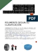 Clasificacion de Los Polímeros Según Sus Aplicaciones Ing. Castro