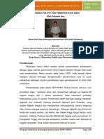 Dinamika Politik Dan Pemerintahan India Oleh Fahremi Imri