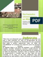 Rechazados Universitarios en México