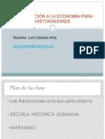 Marx - Economia Prof. Luis Caceres