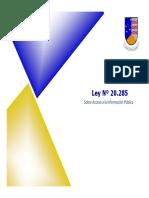 Ley 20285