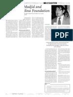 Nurcholish Madjid and the Paramadina Foundation