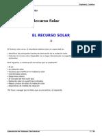 El Recurso Solar