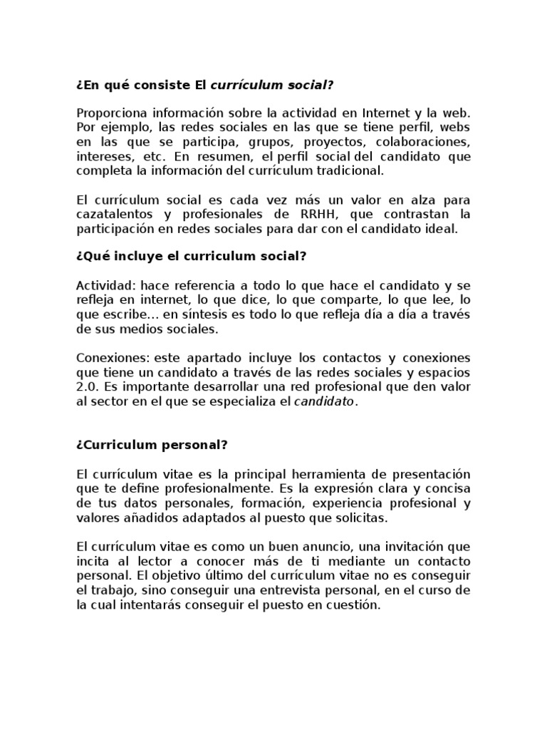 Contemporáneo Todo Sobre El Curriculum Fotos - Colección De ...