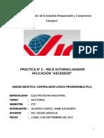 Controlador Logico Programable Informe de Laboratorio Nro 2