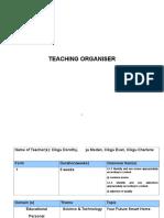 Teaching Organiser (Group 2)