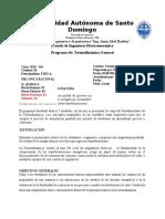 Programa Termodinamica General Rev