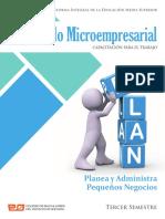 Desarrollo Microempresarial Planea y Administra
