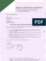 Chartered Logistics bags Prestigious Contracts [Company Update]