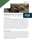 """Dokumentation des 2. Workshops zum """"Campus Ohlauer"""""""