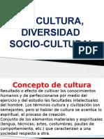 cultura, diversidad Socio-cultural