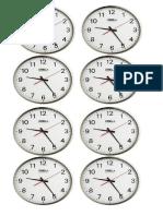 Partes Del Reloj