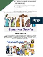 Celebraciones y Tradiciones en El Salvador