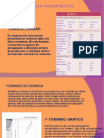 Formato Tabular