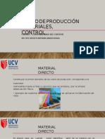Costos de Produccion a Material Directo Ok