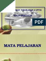 1. TAKLIMAT UJIAN BERTULIS PT3.pptx