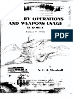 Commentary on Infantry Weapons Korea 1950 51