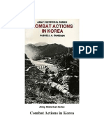 Korean War Small Unit Actions