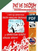 Tepki ve Değişim Dergisi 29. sayı