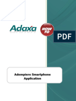 HowTo Guide - ADempiere Smart Phone Application