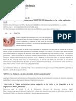 Derecho a La Vida_ Artículo 11 « Constitución y Ciudadanía