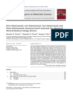 Dimensional Nanostructured for Electrochemical Energy Devices [2012]