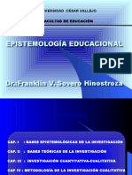 EPISTEMOLOGÍA EDUCACIONAL