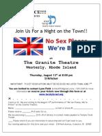 No Sex Please, We'Re British Flyer