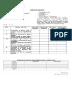 Formato de Análisis de Evaluación Intermedia Quinto Básico Primer Semestre