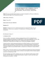 Panorama Inicial Del Régimen de Vivienda