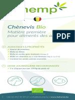 BEhemp Chènevis Bio